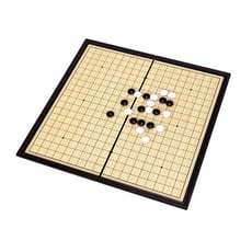 【888便利購】19路磁性圍棋(益智)(折疊收納攜帶方便)