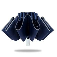 好傘王 自動傘系_輕白超輕量電光降溫反向折傘 (多色可選) 防曬 黑膠 自動折傘 終身維修免費