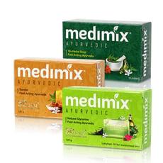 【現貨】MEDIMIX 美黛詩 印度綠寶石皇室藥草浴 美肌皂 香皂 125g 印度香皂 台灣現貨
