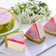 【久久津】宇治愛上瓜乳酪蛋糕(6吋)