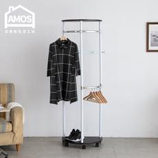 【Amos】台灣製升級款半圓多功能吊衣架