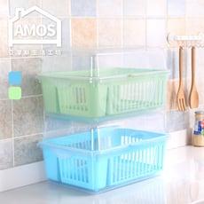 【Amos】塑膠碗盤收納盒