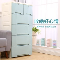 【Amos】五層抽屜式附輪收納櫃