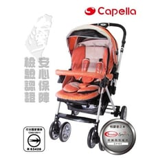 【YIPBABY】Capella大型推車Y1系列-S802O(橘色)