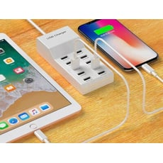 手機充電器 10孔USB 多孔插座 手機充電插座 多口 多孔充電器 手機充電器 充電器5v2a