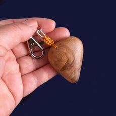 進口肖楠把玩鑰匙圈W056  原木把玩  包包掛飾