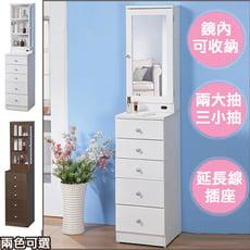 【C&B】美麗達人直立隙縫化妝櫃