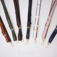 [ Catsbag ] 經典時尚可調可替換皮革斜背帶|0002