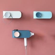 免打孔浴室壁掛吹風機架置物架/吹風機架 置物架