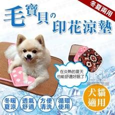 XL號 / 涼墊 兩用印花涼墊窩墊 寵物涼墊 夏天涼墊 窩墊 散熱 散熱 寵物窩 貓狗窩 貓狗毯
