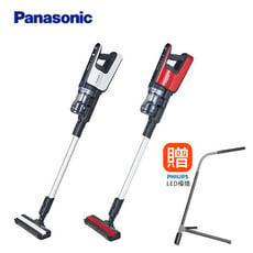 【Panasonic國際牌】日本製造直立無線吸塵器 MC-BJ980 (加贈飛利浦檯燈)