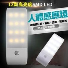 大容量USB充電人體感應燈