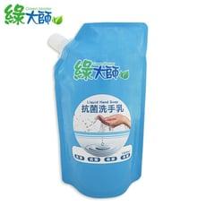 【綠大師 GreenMaster】防疫必備!抗菌洗手乳補充包1000ml