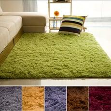 【日系簡約】纖柔長毛地毯(140*200cm)
