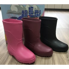 ✿ MIT認證 ✿ 超輕型雨鞋-女生款
