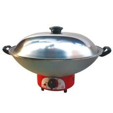 【永新牌】36cm電火鍋(YS-360)紅色 台灣製造安心有保障