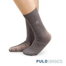 【PULO】暖纖淨麻花發熱保暖襪