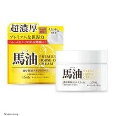 日本 Loshi 頂級日本馬油極潤超濃厚乳霜(純馬油) 100g