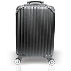 ✿YC Eason✿ 百慕達三件組ABS硬殼行李箱(18+24+28吋 黑色)