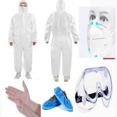搭機出國套組不織布防護衣隔離衣防塵衣防護服隔離服防塵服防護裝隔離裝防塵裝