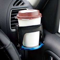 【日本YAC】車用彈性展開飲料架 (汽車收納|杯架)