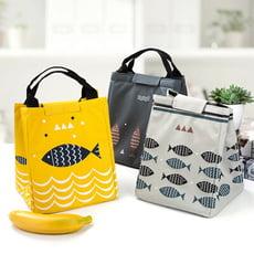 小魚手提包  保溫便當袋    戶外野餐保溫保冰包  便携冰包