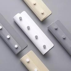 簡約風黏貼壁掛式鑰匙架