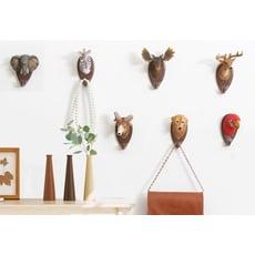 歐美鄉村風 質感動物造型掛吊飾掛勾(7款)