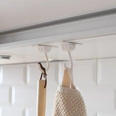 多功能廚房水槽廚櫃門後掛勾