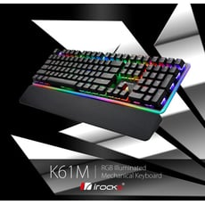irocks K61M RGB 背光機械式鍵盤