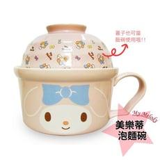 【Hello Kitty】三麗鷗系列陶瓷泡麵碗 (正版授權)