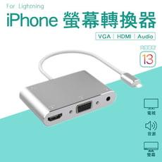 【質感好物】iPhone Lightning轉VGA HDMI 影音轉接器