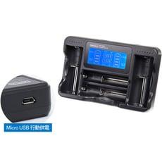 Kamera佳美能 LCD-18650 液晶充電器 (四槽旗艦版)鋰電池與鎳氫低自放充電電池皆可使用