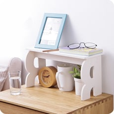 簡易桌面收納架 化妝品置物架 辦公室整理架