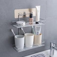 壁掛浴室置物架(雙層)
