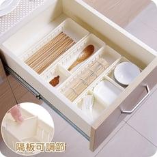 日式收納盒 抽屜塑膠分隔盒 分類整理盒(小號)