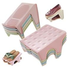 分層鞋子收納架 節省空間立體式鞋架(雙層)