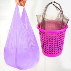 背心式垃圾袋 塑膠袋【樂晨居家】