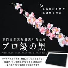 【百寶袋】黑色吸光布 (300*140cm)
