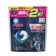 日本【P&G  ARIEL】2倍!史上最強3D洗衣球-黑藍 運動消臭 26入