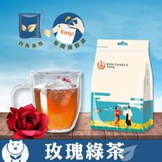 【台灣茶人】辦公室正能量-玫瑰綠茶