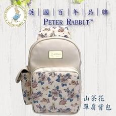 【 比得兔】比得兔山茶花斜背包◆母親節◆禮物◆逛街◆原廠授權
