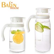 【Bafin House】台玻耐熱玻璃冷水壺超值2入組(1215+805ml)