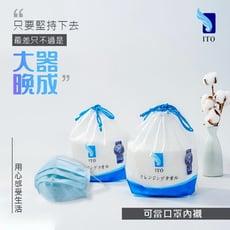 《日本ITO陪你對抗肺炎病毒》日本ITO 洗臉巾 乾濕兩用 親膚純棉 (1卷/80片)