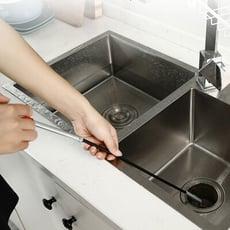(格林)160cm 超長廚房水管疏通器 彈簧疏通工具 毛髮頭髮清理幫手