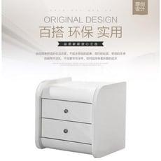 簡約現代床頭櫃智慧家具亮光鋼琴烤漆臥室儲物櫃收納櫃 - 整裝,圖片色