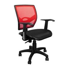 概念家居 愛菈坐墊扶手椅 全網椅 辦公椅 電腦椅 事務椅 主管椅 升降轉椅 書房椅 扶手椅 E72
