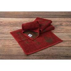 【廣福毛巾】來福牌純棉和風茶巾 100%純棉吸水