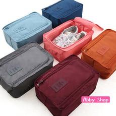 Abby生活百貨》韓版超輕量旅行防水收納鞋袋(可容納兩雙鞋)