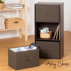 Abby生活百貨》三層櫃抽屜置物盒 橫式 直式 無蓋收納盒 無蓋收納箱 百納箱 【739889】